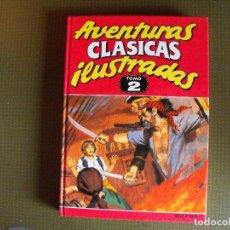 Cómics: AVENTURAS CLÁSICAS ILUSTRADAS. TOMO 2. EDICIONES B.. Lote 128128287