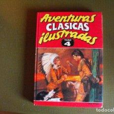 Cómics: AVENTURAS CLÁSICAS ILUSTRADAS. TOMO 4. EDICIONES B.. Lote 128128307