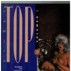 Cómics: TOP CÓMICS VOL.1 -RETAPADO CON LOS NºS 1,2 Y 3- ED. B 1994.. Lote 128184215