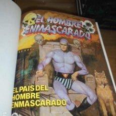 Cómics: EL HOMBRE ENMASCARADO EDICION HISTORICA COMPLETA 74 NUMEROS ENCUADERNADA EN 6 TOMOS- EDICIONES B -. Lote 128279139