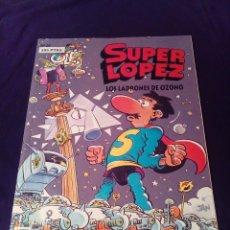 Cómics: SÚPER LOPEZ 22 LOS LADRONES DE OZONO PRIMERA EDICIÓN 1993. Lote 128285623