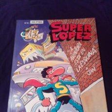 Cómics: SÚPER LOPEZ 24 LA AVENTURA ESTA EN LA ESQUINA PRIMERA EDICIÓN 1993. Lote 128286119