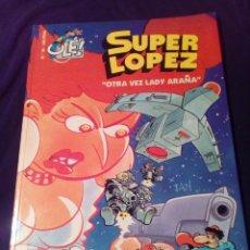 Cómics: SÚPER LOPEZ 34 OTRA VEZ LADY ARAÑA PRIMERA EDICIÓN 1999. Lote 128286471
