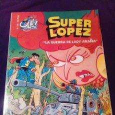 Cómics: SÚPER LOPEZ 35 LA GUERRA DE LADY ARAÑA PRIMERA EDICIÓN 2000. Lote 128286695