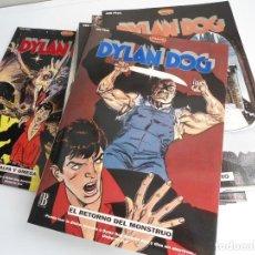 Cómics: DYLAN DOG - T. SCLAVI & L. PICCATTO - EDICIONES B CO&CO 1993 - 10 NUMEROS COMPLETA -EXCELENTE ESTADO. Lote 128351523