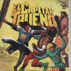 Comics: EL CAPITAN TRUENO-HISTORICA-AÑO 1987-B.S.A.-COLOR-FORMATO GRAPA-Nº 118-CONJURA TENEBROSA. Lote 128374851