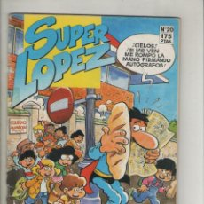 Cómics: SUPER LOPEZ-B.S.A.-AÑO1987-COLOR-FORMATO GRAPA-Nº 20. Lote 128471623