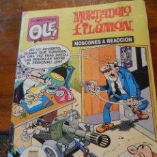 Cómics: MORTADELO Y FILEMÓN -MOSCONES A REACCIÓN .EDICIONES B. 1ª EDICIÓN.1989.. Lote 128475099