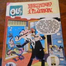 Cómics: MORTADELO Y FILEMÓN .EDICIONES B. 1ª EDICIÓN.1989.. Lote 128476007