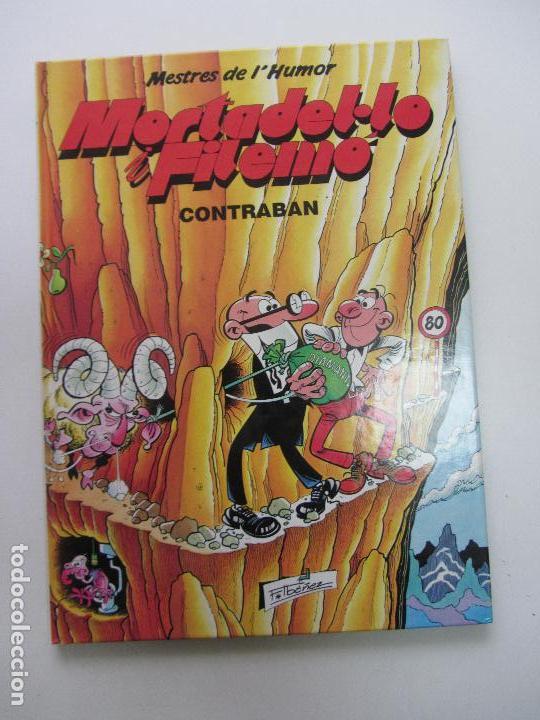 MESTRES DE L'HUMOR Nº 3 . MORTADEL·LO I FILEMÓ. CONTRA LA BANDA DEL LLARDÓ. ED. B 1990 GT04 (Tebeos y Comics - Ediciones B - Humor)