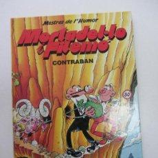Comics - MESTRES DE L'HUMOR Nº 3 . MORTADEL·LO I FILEMÓ. CONTRA LA BANDA DEL LLARDÓ. ED. B 1990 gt04 - 129077239