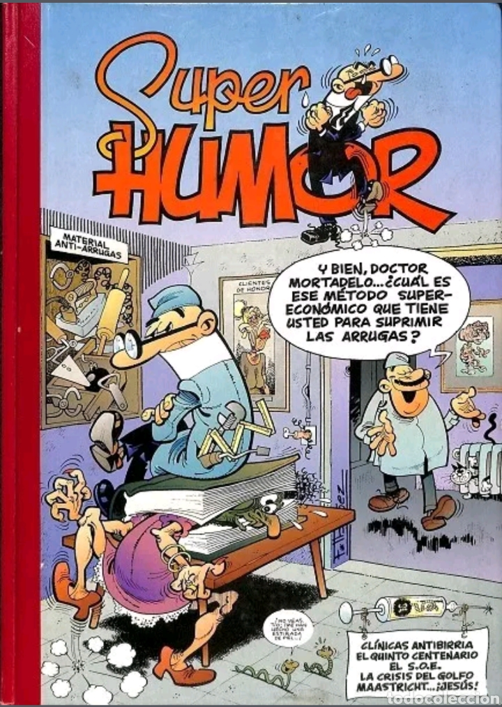 COMIC N°12 SUPER HUMOR 1994 (Tebeos y Comics - Ediciones B - Humor)