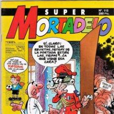 Cómics: COMIC N°115 SUPER MORTADELO 1972. Lote 129568374