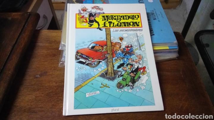 MORTADELO Y FILEMÓN, LOS SECUESTRADORES, EDICIÓN PARA PLURAL 2000 (Tebeos y Comics - Ediciones B - Humor)