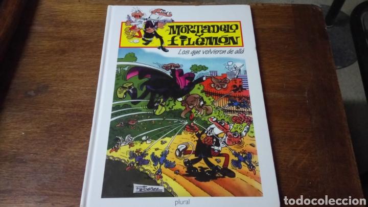 Cómics: Mortadelo y filemón los que volvieron de allá, edición para plural 2000 - Foto 2 - 129977951