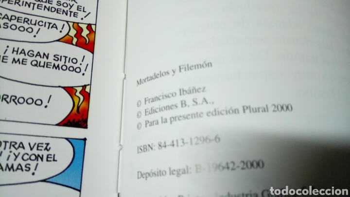 Cómics: Mortadelo y filemón, contrabando, edición para plural 2000 - Foto 3 - 129978064