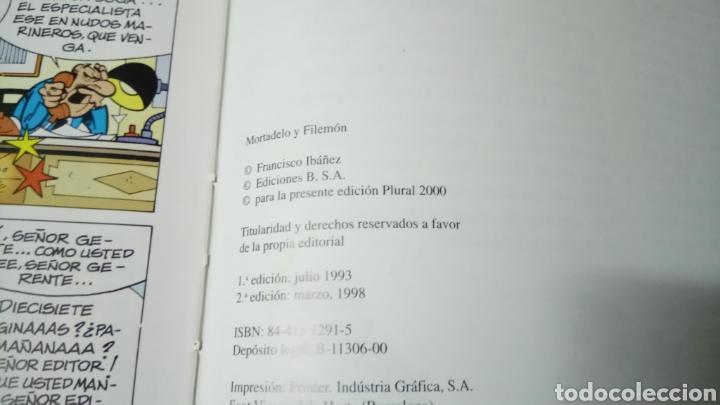 Cómics: Mortadelo y filemón, el trasto móvil, edición para plural 2000 - Foto 3 - 129978260