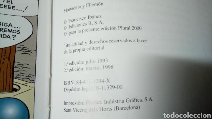 Cómics: Mortadelo y filemón, los mercenarios, edición para plural 2000 - Foto 3 - 129979330