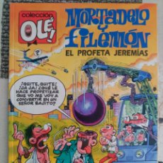 Cómics: MORTADELO Y FILEMÓN. COLECCIÓN OLÉ! Nº 374 - M.166 (1ª EDICIÓN) EL PROFETA JEREMIAS. Lote 130063639