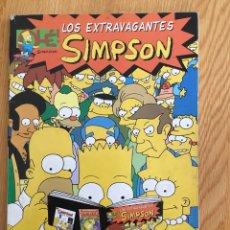 Cómics: LOS EXTRAVAGANTES SIMPSON Nº 1 EDICIONES B 1ª ED. 1996. Lote 130186379