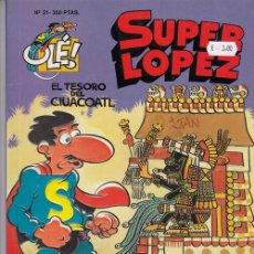 Cómics: COLECCION OLE Nº 21 SUPER LOPEZ - EDICIONES B. Lote 130270706
