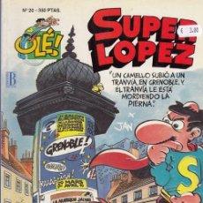 Cómics: COLECCION OLE Nº 20 SUPER LOPEZ - EDICIONES B. Lote 130270762