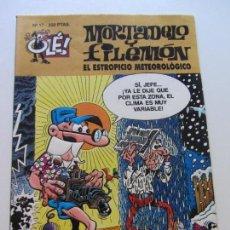 Comics: MORTADELO Y FILEMÓN NUM. 17, -EL ESTROPICIO METEOROLÓGICO RELIEVE EDICIONES B IBÁÑEZ GT08. Lote 130405030