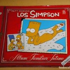 Cómics: LOS SIMPSON, ALBUM FAMILIAR INTIMO, EDICIONES B, AÑO 1997, OFERTA!!, ERCOM A5. Lote 131049720