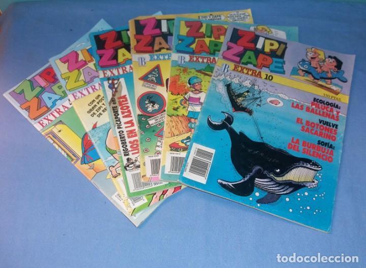 6 ZIPI Y ZAPE EXTRA DE EDICIONES B EN MUY BUEN ESTADO VER DESCRIPCION (Tebeos y Comics - Ediciones B - Humor)