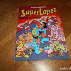 Cómics: SUPER LOPEZ. EL ORIGEN DE SUPER LOPEZ, DE JAN MAGOS DEL HUMOR Nº 21. CARTONE 1989 1ª EDIC.. Lote 131753278