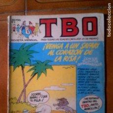 Cómics: TBO DE EDICIONES ,B NUMERO 3 ABRIL DE 1988. Lote 131787190