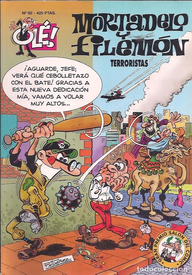 Cómics: OLÉ ! MORTADELO Y FILEMON ( B ) ORIGINALES 1993 - 2009 LOTE - Foto 80 - 173903222
