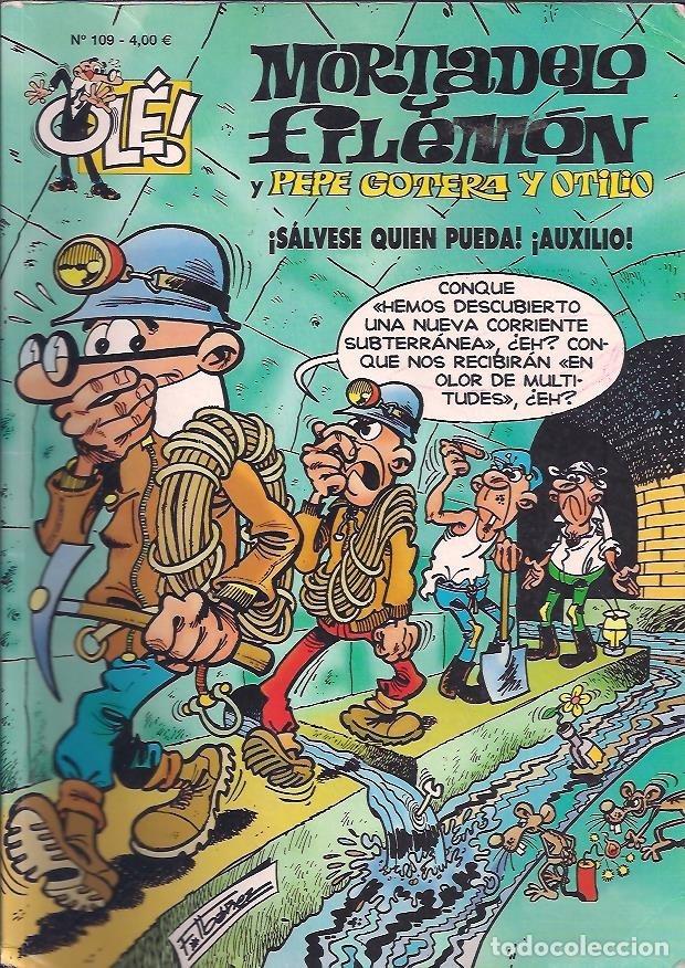 Cómics: OLÉ ! MORTADELO Y FILEMON ( B ) ORIGINALES 1993 - 2009 LOTE - Foto 81 - 173903222