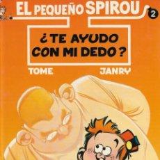 Cómics: EL PEQUEÑO SPIROU - Nº 2 - ¿TE AYUDO CON EL DEDO ? - TOME Y JANRY - 2ª EDICIÓN, EDICIONES B 1995.. Lote 131942694