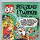 Cómics: MORTADELO Y FILEMÓN - EL PREMIO NO-VEL - OLÉ Nº 377 M.189 - F. IBAÑEZ - EDICIONES B - AÑO 1990.. Lote 132011534