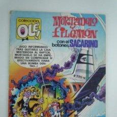 Cómics: MORTADELO Y FILEMON CON EL BOTONES SACARINO, COLECCION OLE, 165 M 94. Lote 132319126