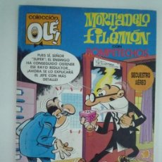 Cómics: MORTADELO Y FILEMON CON ROMPETECHOS, SECUESTRO AEREO, 191. Lote 132329638