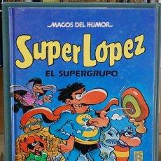 Cómics - SuperLopez, el supergrupo, Colección Magos del humor. Jan - Efepe - 132542366