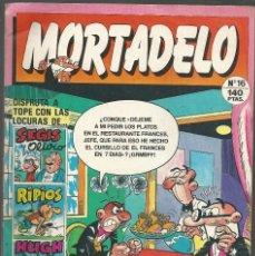 Cómics: MORTADELO Nº 16 - EDICIONES, B - 1987. Lote 132602478