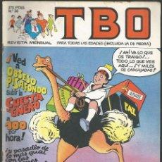 Cómics: TBO Nº 36 - EDICIONES B, 1988. Lote 133225866