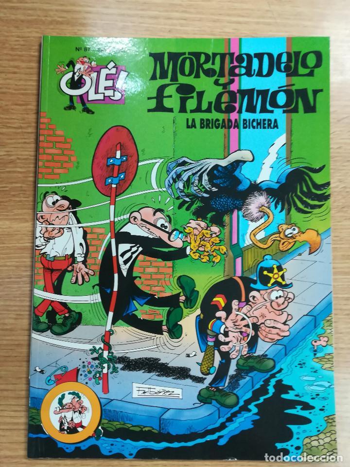 MORTADELO Y FILEMON LA BRIGADA BICHERA (OLE #87 2ª EDICION 2000) (Tebeos y Comics - Ediciones B - Humor)