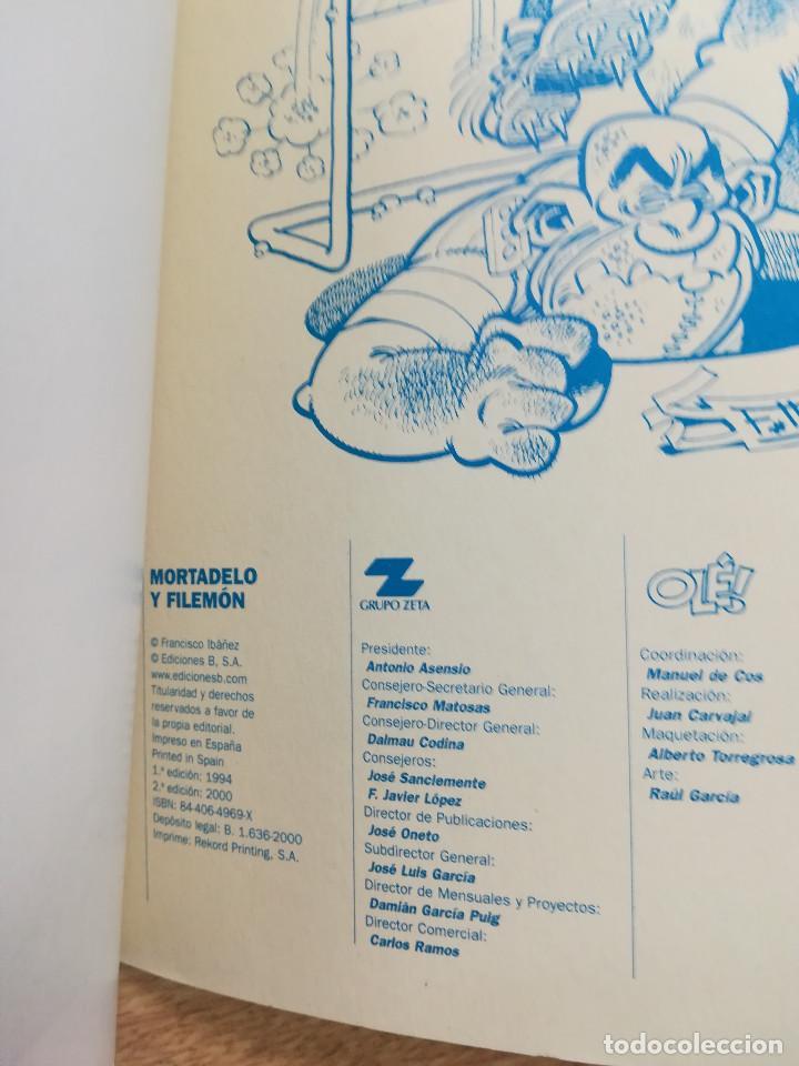 Cómics: MORTADELO Y FILEMON LA BRIGADA BICHERA (OLE #87 2ª EDICION 2000) - Foto 2 - 133324230