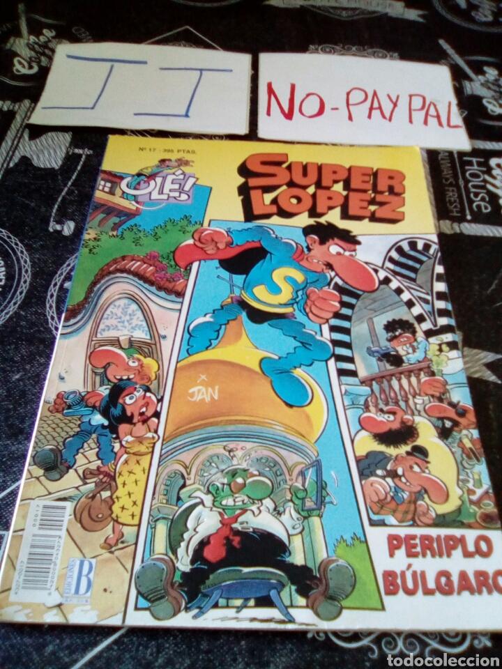 SUPER LOPEZ 17 PERIPLO BÚLGARO OLE (Tebeos y Comics - Ediciones B - Humor)
