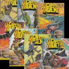 Cómics: EL CAPITAN TRUENO, SIETE TOMOS 4, 5, 6, 7, 8, 9 Y 10 DE 1988. Lote 133479270