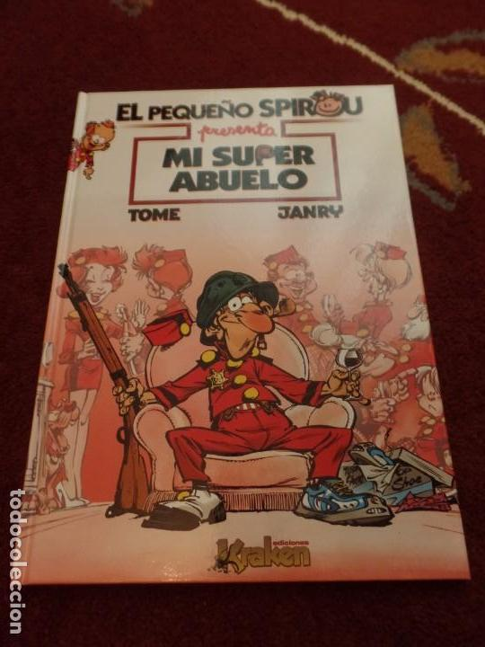 EL PEQUEÑO SPIROU MI SUPER ABUELO (Tebeos y Comics - Ediciones B - Otros)