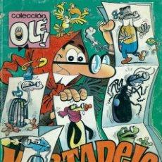 Cómics: OLE Nº 385-M.199 - MORTADELO, PARA GOZARLA NO HAY COMO UNA PORTADA - ED. B 1991, 1ª EDICION - RARO. Lote 133482614