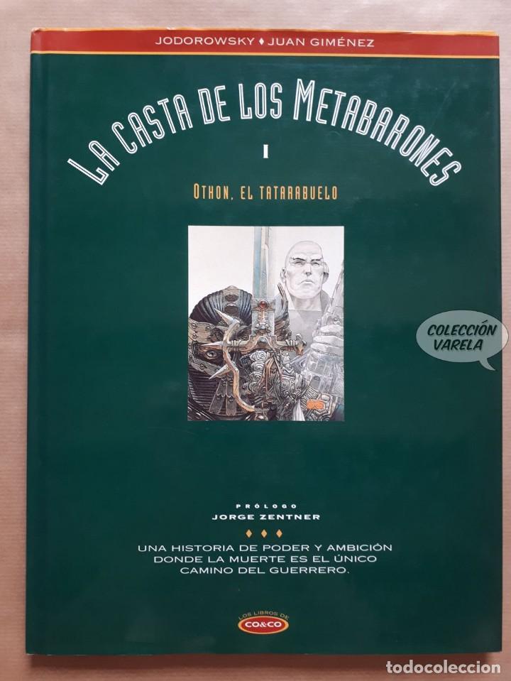 LA CASTA DE LOS METABARONES I - Nº 1 OTHON EL TATARABUELO - CO&CO - BUEN ESTADO (Tebeos y Comics - Ediciones B - Otros)