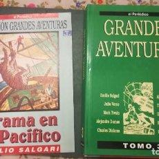 Cómics: COLECCION GRANDES AVENTURAS TOMO 3 DRAMA EN EL PACIFICO Y 19 NUMEROS MÁS (COMPLETO). Lote 133570006