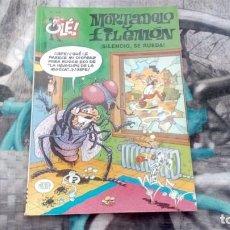 Cómics: MORTADELO Y FILEMÓN - ¡SILENCIO, SE RUEDA! - Nº128 - 2ª EDICIÓN 2000. Lote 133593294