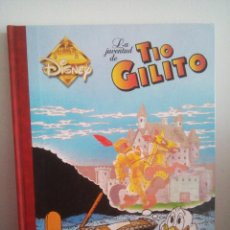 Cómics: LA JUVENTUD DEL TIO GILITO - SUPER DISNEY - TOMO 6 - DIBUJANTE DON ROSA -. Lote 133636610